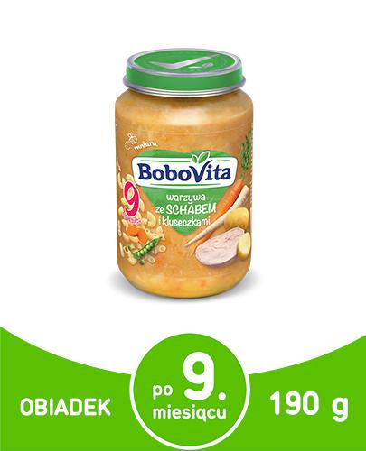 BOBOVITA Warzywa ze schabem i kluseczkami - 190 g - Apteka internetowa Melissa