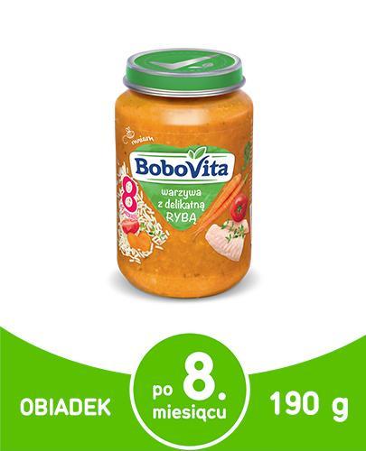 BOBOVITA Warzywa z delikatną rybą po 8 m-cu - 190 g
