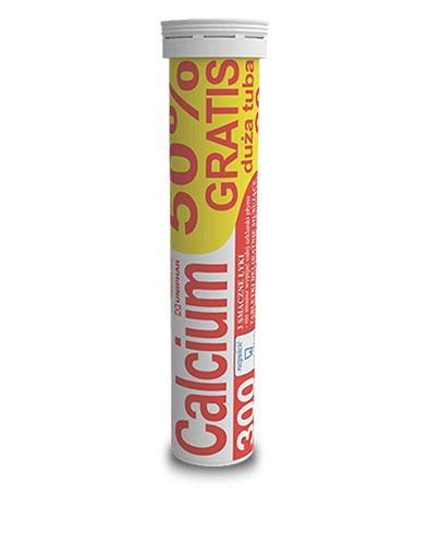 UNIPHAR CALCIUM 300 mg o smaku pomarańczowym - 20 tabl. mus.
