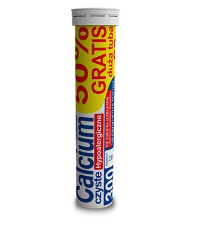 UNIPHAR CALCIUM 300 mg czyste - 20 tabl. mus.