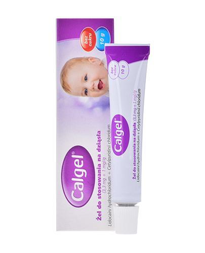 CALGEL Żel na bolesne ząbkowanie - 10 g - cena, opinie, stosowanie - Apteka internetowa Melissa