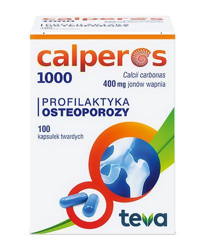 CALPEROS 1000 - 100 kaps. - Apteka internetowa Melissa