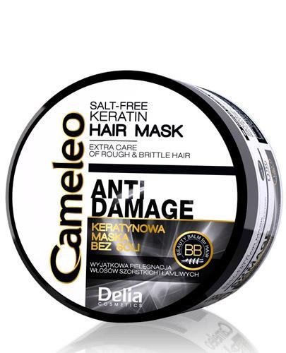 Cameleo Anti Damage Maska keratynowa do włosów zniszczonych - 200 ml  - cena, opinie, stosowanie