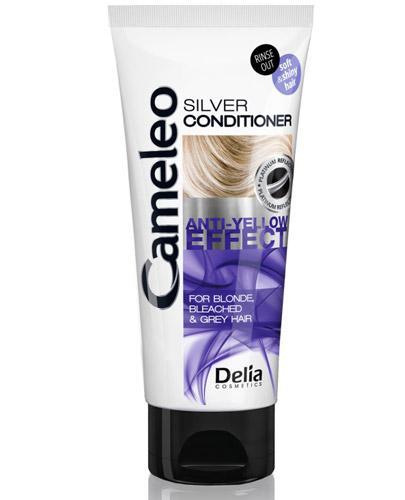 Cameleo Silver Odżywka anty-żółty efekt - 200 ml Do włosów rozjaśnionych i siwych - cena, opinie, stosowanie  - Apteka internetowa Melissa