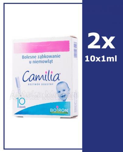 Camilia Roztwór doustny na bolesne ząbkowanie - 10 x 1ml - 2 szt. - cena, opinie, wskazania  - Apteka internetowa Melissa