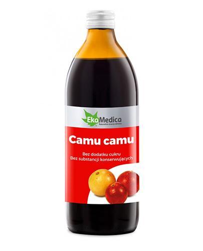 EKAMEDICA Sok z jagód camu camu - 500 ml - Apteka internetowa Melissa