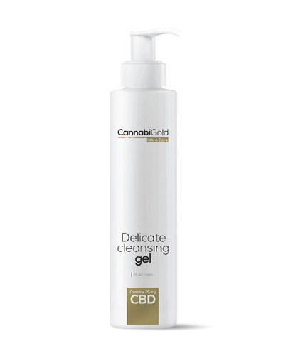 Cannabigold Delikatny żel myjący z CBD do wszystkich typów skóry - 200 ml - Drogeria Melissa