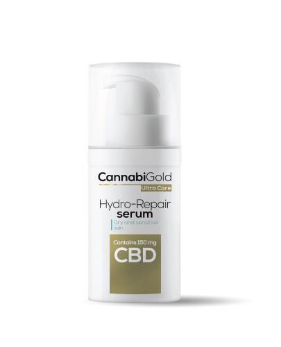 Cannabigold Serum nawilżająco - regenerujące z CBD do skóry suchej i wrażliwej - 30 ml  - Drogeria Melissa