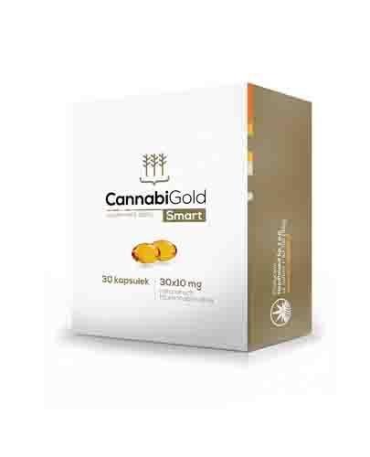 Cannabigold Smart 30 kapsułek CBD gwarantowane stężenie