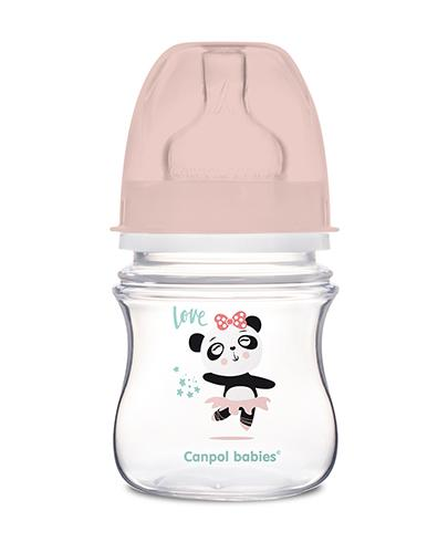 CANPOL Butelka antykolkowa EasyStart 35/220 - 120 ml