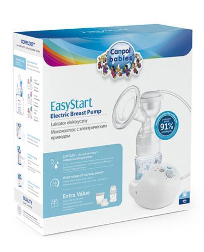 CANPOL BABIES LAKTATOR Elektryczny EasyStart 12/201- 1 szt. - Apteka internetowa Melissa