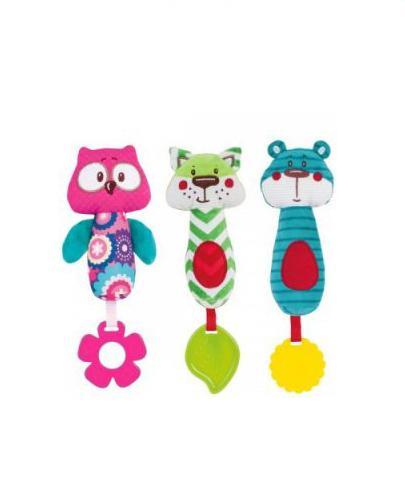 CANPOL BABIES Pluszowa zabawka z piszczałką