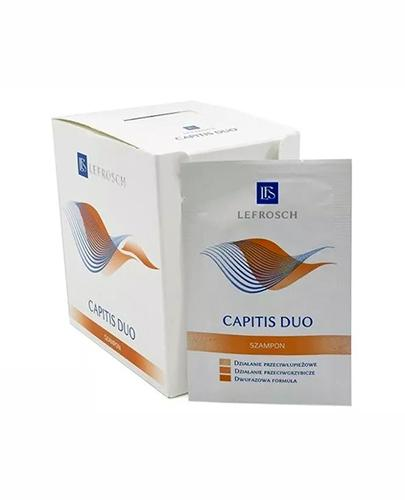 CAPITIS DUO Szampon - 30 sasz. x 5 ml  - Apteka internetowa Melissa