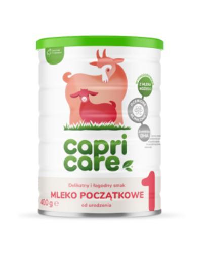 CAPRICARE 1 Mleko początkowe oparte na mleku kozim od urodzenia - 400 g - Apteka internetowa Melissa