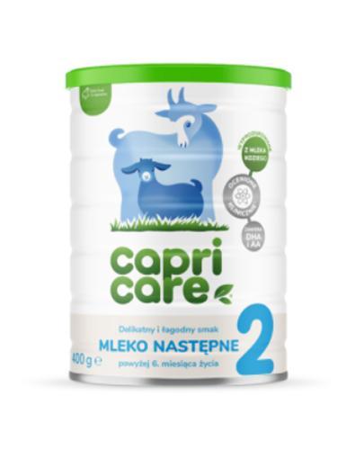 CAPRICARE 2 Mleko następne oparte na mleku kozim od 6 m-ca - 400 g  - Apteka internetowa Melissa