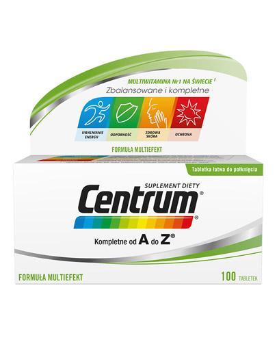 CENTRUM A-Z Multiefekt - 100 tabl. - Drogeria Melissa
