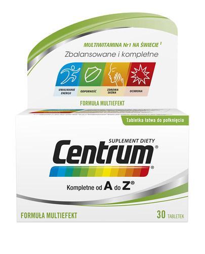 CENTRUM A-Z Multiefekt - 30 tabl. - Apteka internetowa Melissa