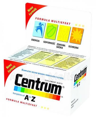 CENTRUM A-Z Formuła Multiefekt z luteiną - 60 tabl. - Apteka internetowa Melissa
