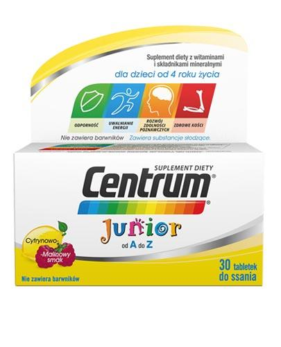 CENTRUM JUNIOR OD A DO Z - 30 tabl. do ssania   - Apteka internetowa Melissa