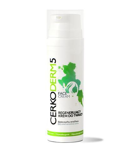 CERKODERM 5 Regenerujący krem do twarzy - 50 ml