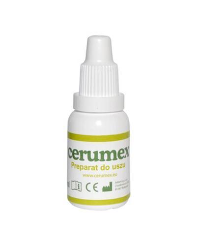 CERUMEX Preparat do higieny uszu - 15 ml - cena, opinie, skład - Drogeria Melissa