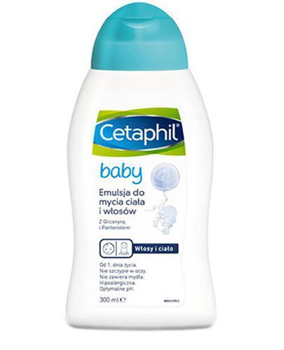 Cetaphil Baby Intensywnie nawilżająca emulsja do mycia ciała - Apteka internetowa Melissa