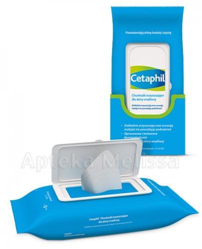 Cetaphil Chusteczki oczyszczające dla skóry wrażliwej - Apteka internetowa Melissa