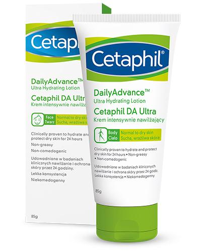 CETAPHIL DA ULTRA - krem nawilżający - 85 g - cena, opinie, właściwości