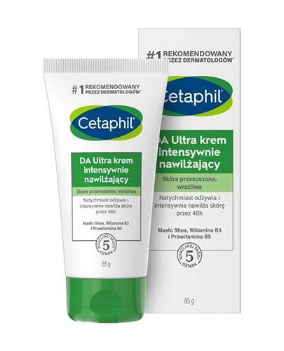 CETAPHIL DA ULTRA - krem nawilżający - 85 g - cena, opinie, właściwości - Drogeria Melissa