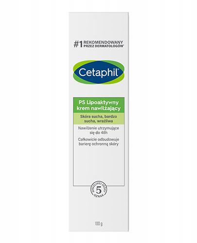 CETAPHIL PS Lipoaktywny krem nawilżający - 100 g - cena, opinie, skład - Drogeria Melissa