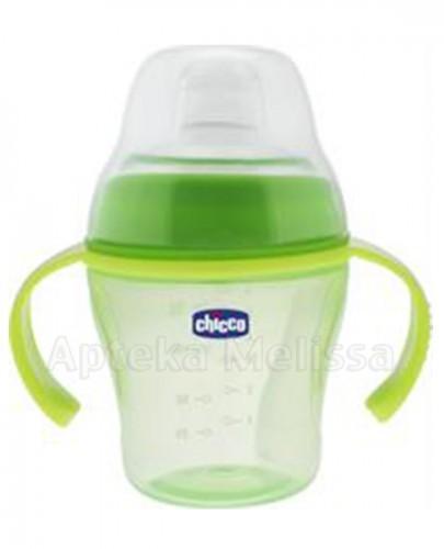 CHICCO Kubek niekapek z silikonowym ustnikiem zielony 6m+ - 1 szt. (200 ml) - Apteka internetowa Melissa