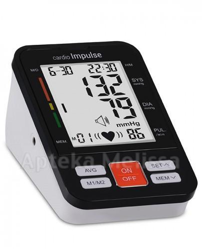 CARDIO IMPULSE PRO Ciśnieniomierz automatyczny + zasilacz - 1szt. - Apteka internetowa Melissa