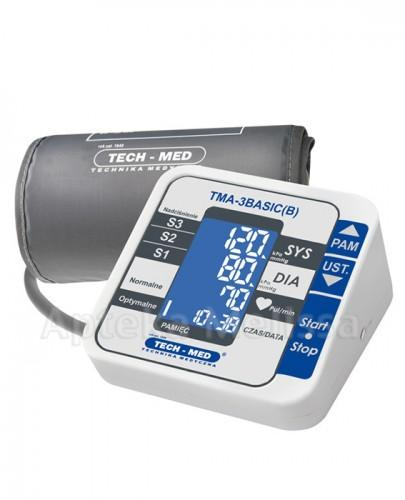 TECH-MED Ciśnieniomierz cyfrowy TMA-3BASIC(B) - 1 szt - Apteka internetowa Melissa