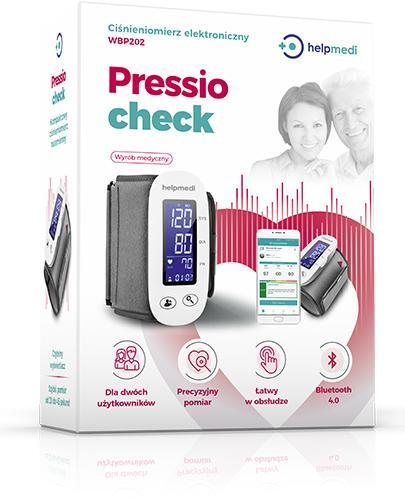 Ciśnieniomierz elektroniczny WBP202 -  Pressiocheck - 1 szt. - cena, opinie, specyfikacja - Drogeria Melissa