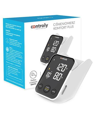 Ciśnieniomierz Controly komfort plus Model: C02 - 1 szt. - cena, opinie, wskazania - Drogeria Melissa