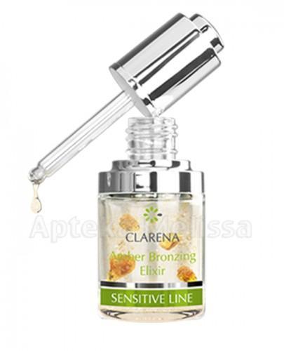 CLARENA SENSITIVE LINE Bursztynowy eliksir brązujący - 30 ml