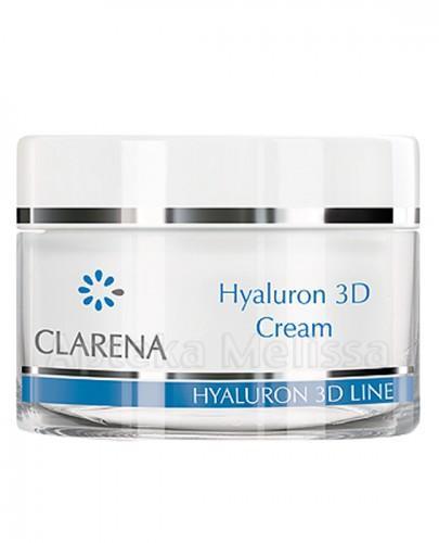 CLARENA HYALURON 3D LINE Ultra-nawilżający krem z 3 rodzajami kwasu hialuronowego - 50 ml  - Apteka internetowa Melissa