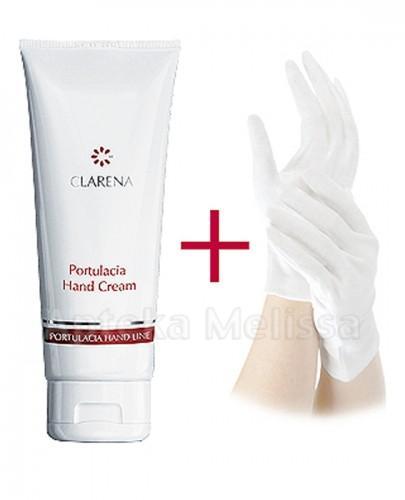 CLARENA PORTULACIA HAND CREAM Krem do pielęgnacji dłoni z rękawiczkami - 100 ml - Apteka internetowa Melissa