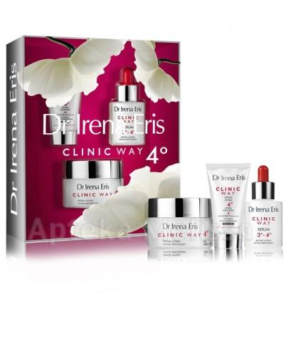 DR IRENA ERIS CLINIC WAY Lifting peptydowy 4° na dzień - 50 ml + Lifting peptydowy 4° na noc - 30 ml + Serum 3° + 4° - 30 ml
