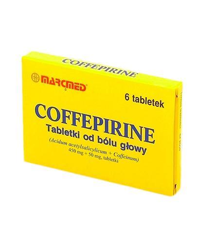 COFFEPIRINE - 6 tabl. Lek na ból głowy - cena, opinie, wskazania - Apteka internetowa Melissa