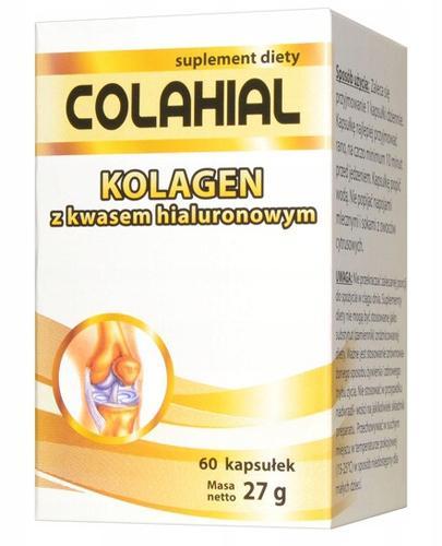 Colahial Kolagen z kwasem hialuronowym - 60 kaps. - cena, opinie, ważne informacje - Apteka internetowa Melissa
