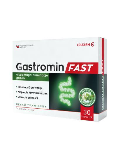 COLFARM Gastromin fast - 30 kaps. - Apteka internetowa Melissa