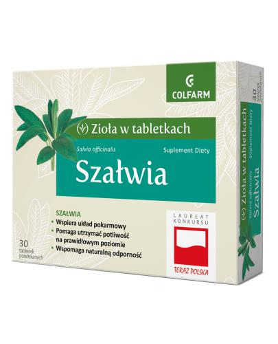 COLFARM Szałwia - 30 tabl. - Drogeria Melissa