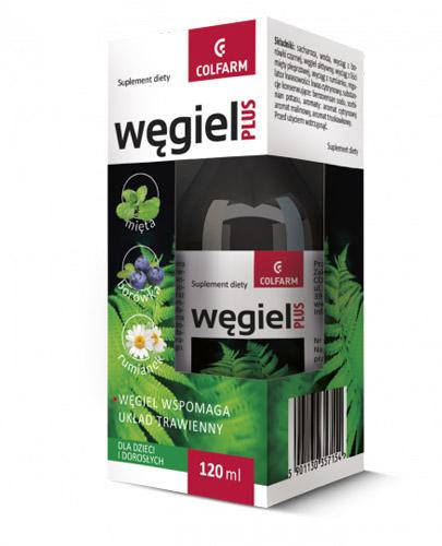 COLFARM Węgiel Plus - 120 ml - Apteka internetowa Melissa