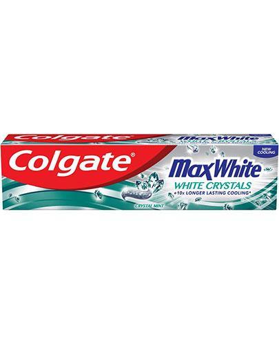 Colgate Max White White Crystals - 100 ml - cena, opinie, właściwości - Apteka internetowa Melissa