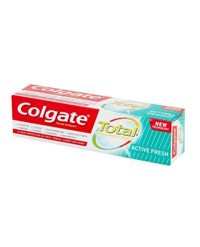 Colgate Total Aktywna Świeżość Pasta do zębów - 75 ml - cena, opinie, właściwości  - Drogeria Melissa