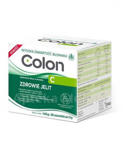 COLON C  Proszek - 28 saszetek po 5 g - Apteka internetowa Melissa