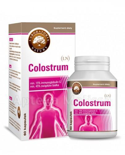 COLOSTRUM - 60 kaps. Wsparcie wzrostu i utrzymania masy mięśniowej. - Apteka internetowa Melissa