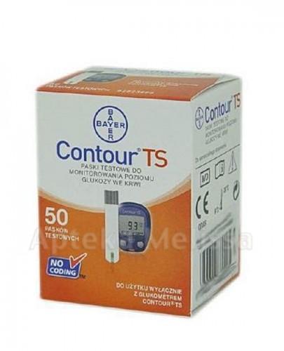 CONTOUR TS Paski testowe do glukometru - 50 szt. - Apteka internetowa Melissa