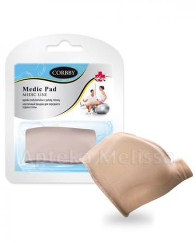 CORBBY MEDIC PAD Opaska metatarsalna z pelotą żelową - 2 szt. - Apteka internetowa Melissa